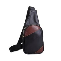 Man Premium Chest Pouch / Classic Leather Pouch MC104 (Free Gift)