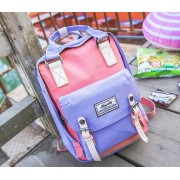 MC122 - Doughnut Backpack / Sugar Candy Sweet Backpack / Perfect Fancy Color Mix Bag (Clearance Sales)