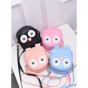 MC123 - Cute Chubby Owl Sling Bag / Small Owl Sling Purse
