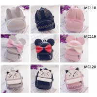 Mini Cute Backpack /  Kids Cute Small Casual Backpack / Girl's Convenient Bag [MC118, MC119, MC120]