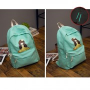 MC107 - Graphic Cartoon Girl Backpack (Clearance Sales)