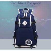 MC133 - Cool Street Backpack / Trending Fashion Backpack E2