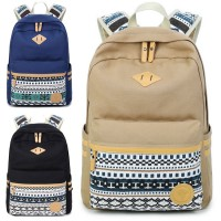 Girl Vintage Design Casual High School Daily Backpack MC135 F3(Promotion)