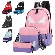 MC189 - Peeky Eye Backpack / 3 in 1 Casual Backpack / Color Mix Backpacks YC2