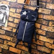 Black Cat Casual Backpack mc196