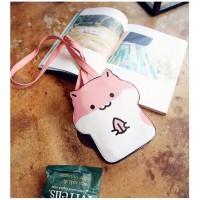 MC198 - Kawaii Mice Sling Bag / Cartoon Hamster Bag*