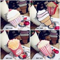 Food/Snack Sling Bag / Superior Leather Quality Cute Girl's CrossBody Bag [MC199, MC200, MC201, MC202]*