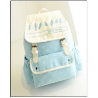 MC172 - Kawaii Backpack / Cute Canvas Girl's Bag (Promo)