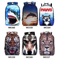 Animal Kingdom Nylon Quality Backpack / Cool Casual Street Bag [MC157 , MC158 , MC159 , MC164 , MC16