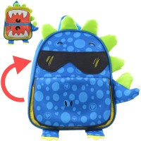 MC150 - Oxford Nylon Kids Little Bag / Cute Little Dinosaur Backpack