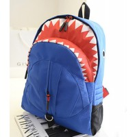 MC059 - Cool Shark Backpack / Awesome Shark Bite Bag - E1