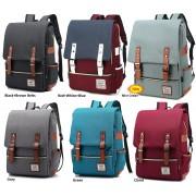 MC208 - Elegant Retro Colleague Backpack / Trending Japanese Style Backpack BK2