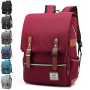 Unisex Elegant Retro Colleague Backpack / Trending Japanese Style Backpack BK2 mc208  (Free Gift)