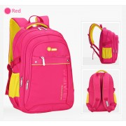 MC210 - Quality Student Backpack / Kids School Bag / Simple & Cool Color Backpack