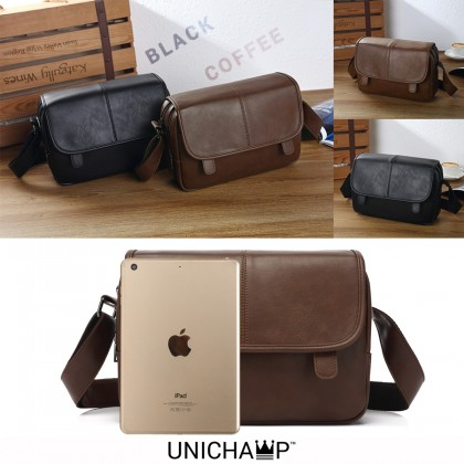 MC215 RB1 Western Formal Man's Fashion Superior Leather Messenger Bag