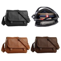 MC215 - Western Formal Man's Fashion Superior Leather Messenger Bag RB1