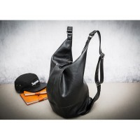 MC223 - Stylish Leather Transfrom Backpack / Multiple Ways Carrying Cool Sling Bag