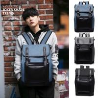MC224 - Korean Fashion Trending Stylish Backpack / Special Design Cool Nylon Backpack - G3 (Promo)
