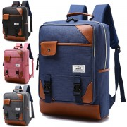 MC231 - Classic Operation Box Rectangular Backpack / Cool Fashion Quality Nylon Colleague School Cas