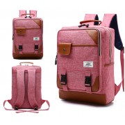 MC231 - Classic Operation Box Rectangular Backpack / Cool Fashion Quality Nylon Colleague School Casual Bag JK1