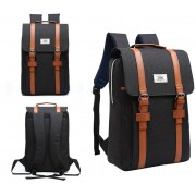 MC232 - Classic Long Strap Rectangular Box Backpack / Quality Fashion Colleague School Bag JK1