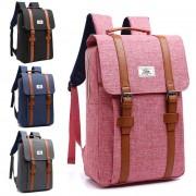 MC232 - Classic Long Strap Rectangular Box Backpack / Quality Fashion Colleague School Bag YT1