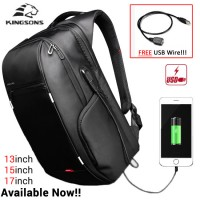 ORI Kingsons Model A Laptop Bag Professional Formal USB Power Bank Backpack MC233 LD3