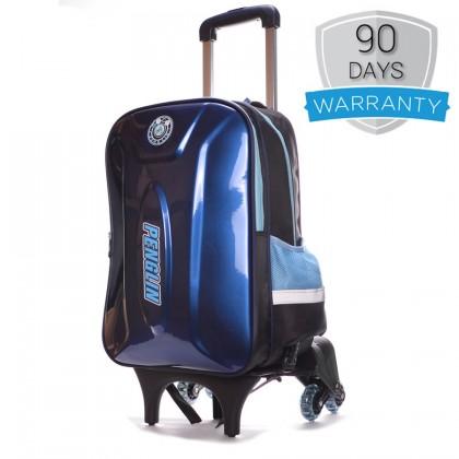 MC244- New Design Hard Cover Kids 6 Wheels Trolley Backpack / School Student 3 Wheels Stair Climbing RA2
