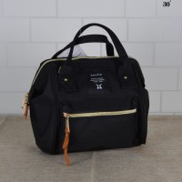 Anello Special With Front Pocket Black Color / Sling Bag / Backpack / Handcarry