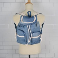 MC246 - Jeans Design Casual Small Backpack (Promo Price)