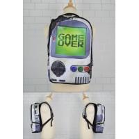 Cool Street Art Design Backpack / Urban Light Weight Leisure Bag [ MC160 , MC161 , MC162 , MC163 ] YC2
