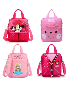 Girl Student Light Weight Convenient Hand Carry/ Sling Tuition Bag TB A6