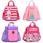Girl Student Light Weight Convenient Hand Carry/ Sling Tuition Bag TB A6/A5