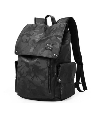 MC268 - Genuine KAKA Camouflage Modern Design Cool College Student Office Men Backpack MK1 (Free Gift)