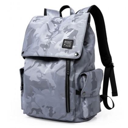 MC268 Genuine KAKA Camouflage Modern Design Cool College Student Office Men Backpack