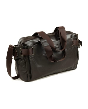 MC277 - Man's Leather 3 Ways Carry Daily Bag / Travel Casual Office Sling Bag RD7