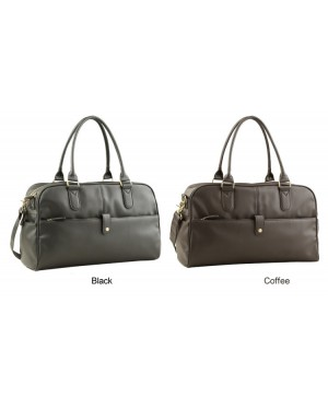 MC278 - Quality Man's Leather Top Handle Bag / 3 Ways Use Classic Fashion Casual Bag (Free Gift)
