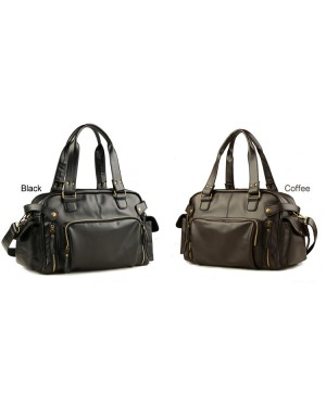 MC279 - Korean Style Cool Design Fashion Sling Bag / Man's Leather 3 Ways Use Office Bag