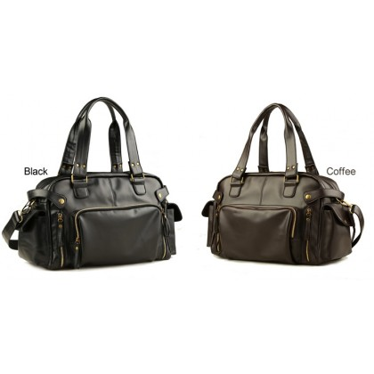 MC279 - Korean Style Cool Design Fashion Sling Bag / Man's Leather 3 Ways Use Office Bag