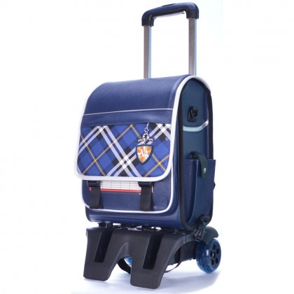 Japanese Design Leather Box Trolley Backpack MC275(Promo) (Lot 2)