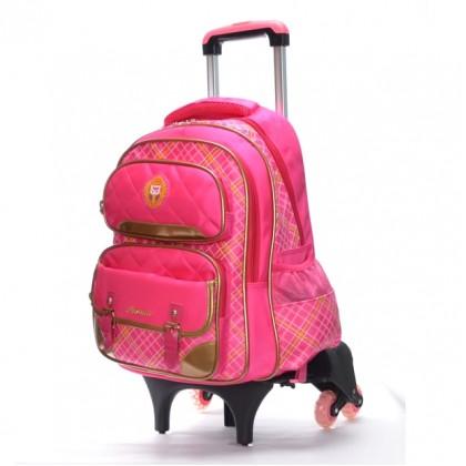 Noble Stylish 6 Wheels Trolley Backpack MC271