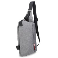 99002 - Oxford Nylon Soft Material Chest Pouch Bag / Swift Design Stylish Convenient Light Weight Bag-mk2