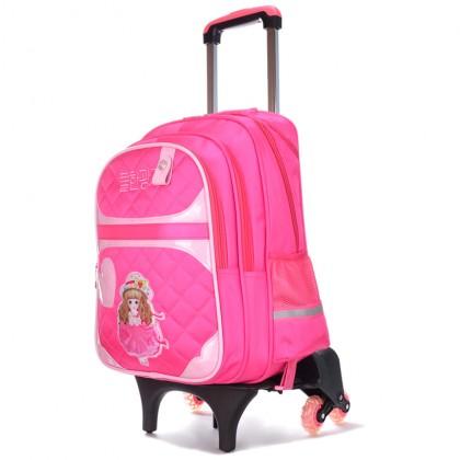 Sweet Design 6 Wheels Trolley Backpack MC304