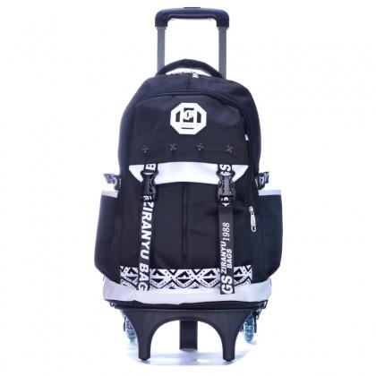 Stylish Design 6 Wheels Trolley Backpack MC308