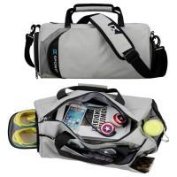 mc323 - NEW Trending Casual Gym Yoga Sports Duffel Bag / Multipurpose Shoe Bag Pouch BK1