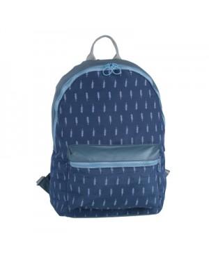 Pinky Blue Flamingo Fashion Design Casual Backpack / Cool College Student Bag MC321 LA4
