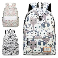 Girl Cute Cartoon Drawing Durable Daily Backpack mc363 RB5