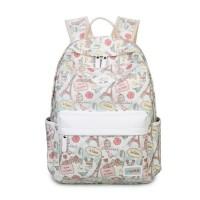 mc322 - Paris Eiffel London Style Vintage Desgin Backpack / Cute Graphic Bag CK2