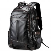 mc326 - Coated Shinny Fabric Cool Design City Urban Daily Convenient Backpack DK1