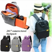mc328 - Trending Outdoor Unique Design Canvas Backpack For Camera & Tripod Carrying F1
